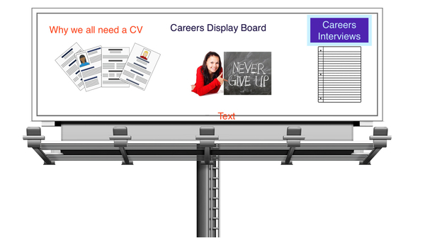 Careers Displays - Raising the Status of Careers Learning