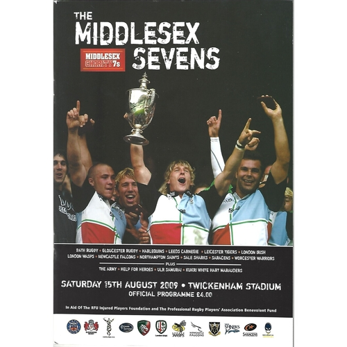 Middlesex Sevens Rugby Union Programmes