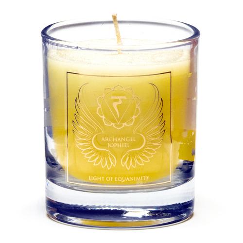 Archangel Jophiel Votive Candle (Chakra 3)