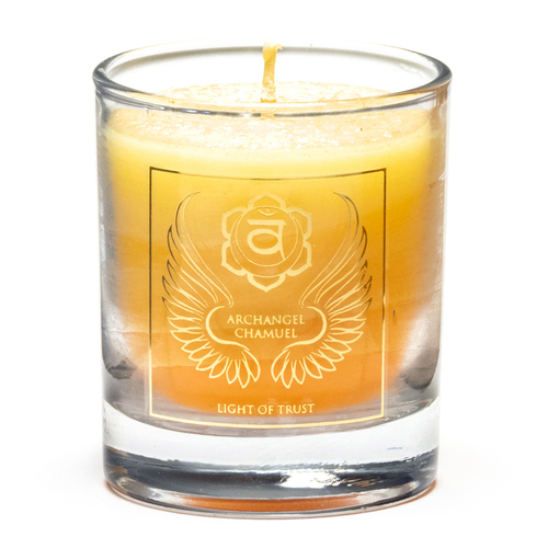 Archangel Chamuel Votive Candle (Chakra 2)