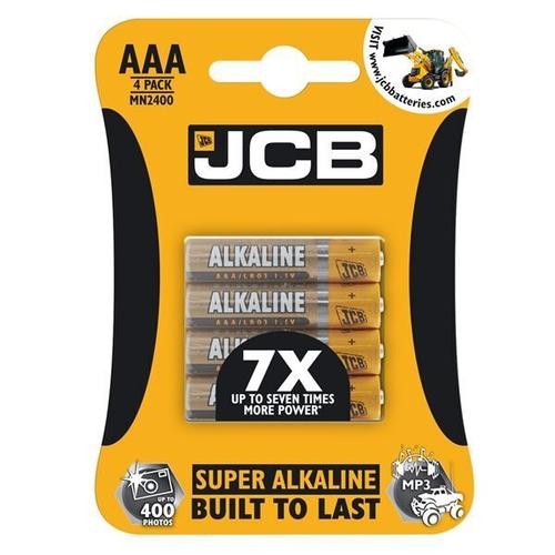 JCB AAA SUPER ALKALINE, PACK OF 4