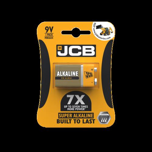 JCB 9V SUPER ALKALINE, PACK OF 1