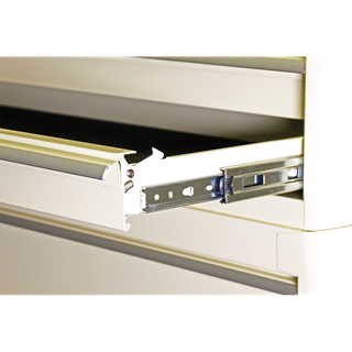 Rollcab 6 Drawer Wide Retro Style - Cream - Sealey - AP41206