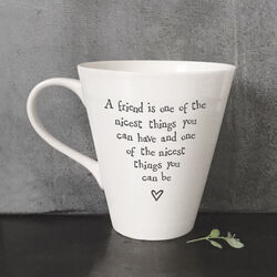 East Of India Porcelain Mug