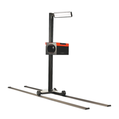 Headlamp Beam Setter with Rails - VOSA Approved - Sealey - HBS97