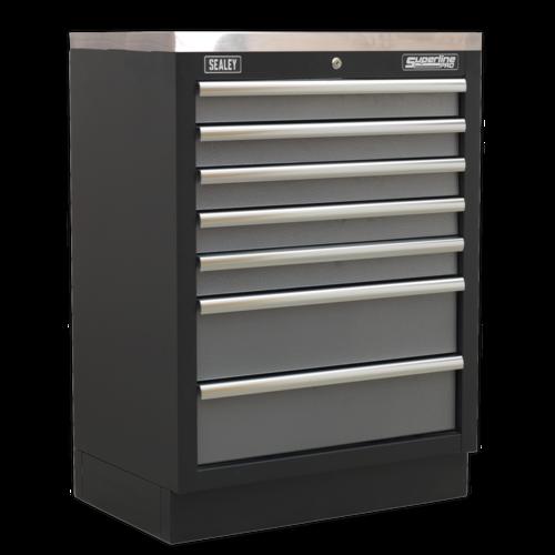 Modular 7 Drawer Cabinet 680mm - Sealey - APMS62