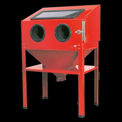Shot Blasting Cabinet 890 x 570 x 1380mm - Sealey - SB973