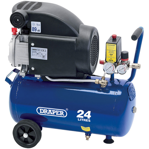 24L Air Compressor (1.5kW) - Draper - 24980