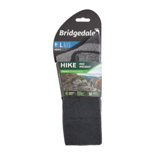 Bridgedale Mens Hike Midweight Boot Merino Performance