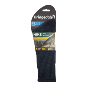 Bridgedale Mens Hike Midweight Boot Merino Comfort