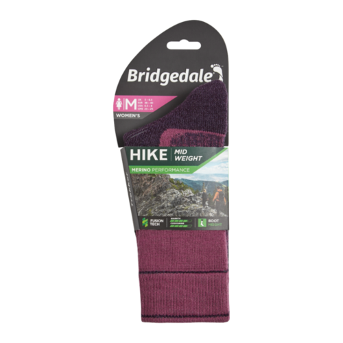 Bridgedale Womens Hike Midweight Boot Merino Performance