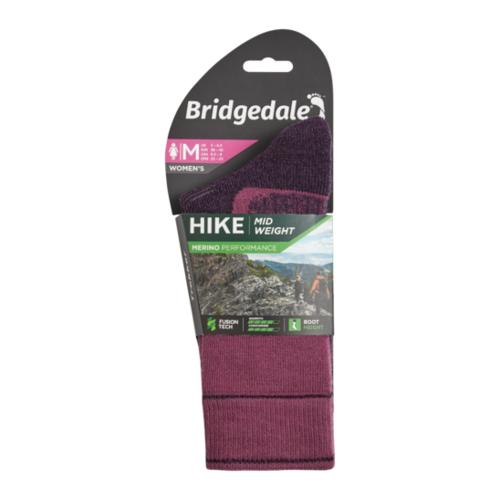 Bridgedale Womens Hike Midweight Boot Merino Performance