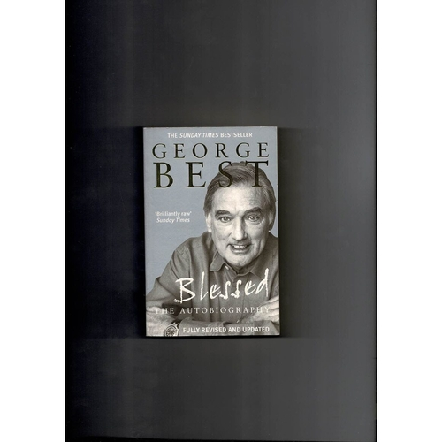 George Best Blessed The Autobiography Softback Edition Football Book 2001
