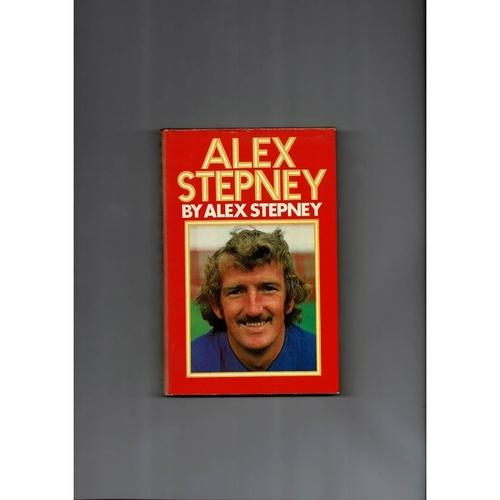 Alex Stepney Football Book 1978