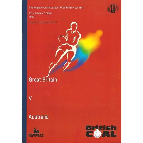 Australia Rugby League Programmes