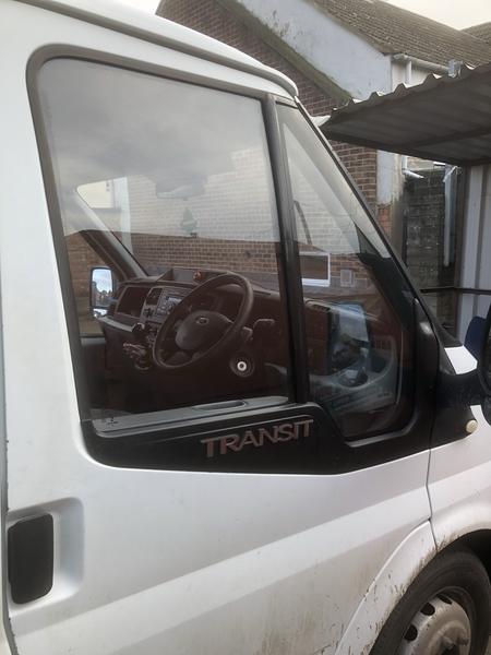 Transit door glass in Trowbrigde