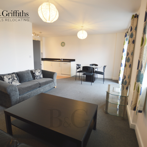 Renting in Cardiff - 1 Bedroom apartment, Overstone Court, with private balcony & water views