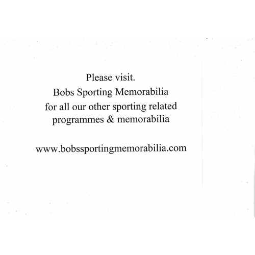Please visit our sister website www.bobssportingmemorabilia.com for all our basketball stock