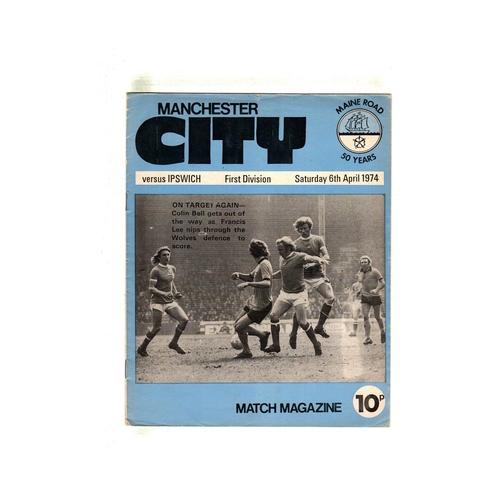 Ipswich Town Away Football Programmes