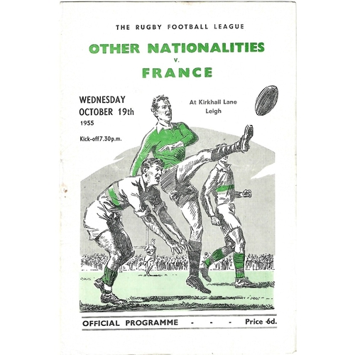 Other International Rugby League Programmes