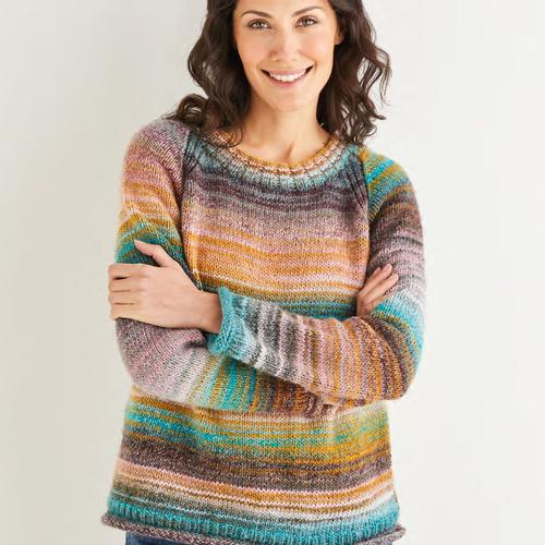 Aran Sweater Pattern 10140