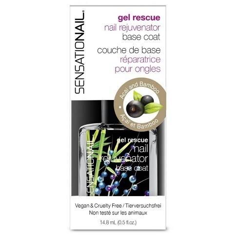 Sensationail gel rescue nail rejuvenator base coat