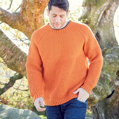 Men's DK Sweater Pattern 8286
