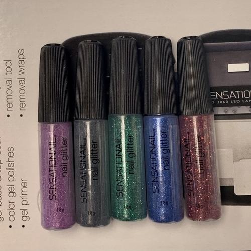 Sensationail nail glitter