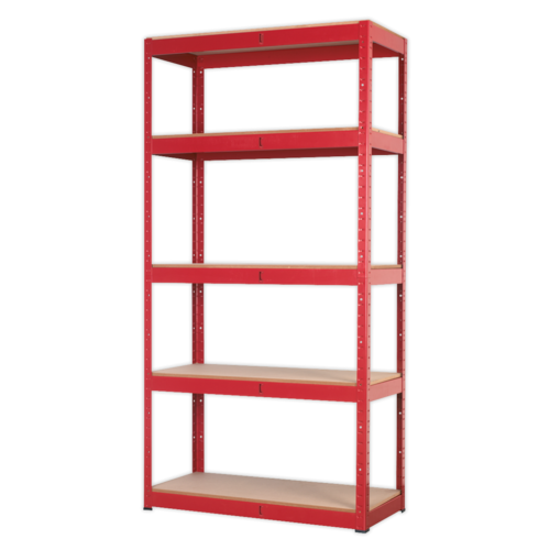 Racking Unit with 5 Shelves 350kg Capacity Per Level - Sealey - AP6350