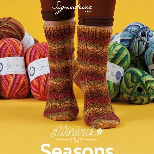 Winwick Mum Seasons Pattern Book