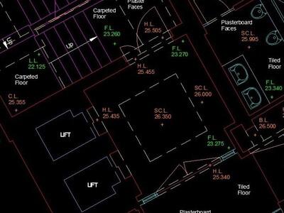 Autocad Plan Drawing London