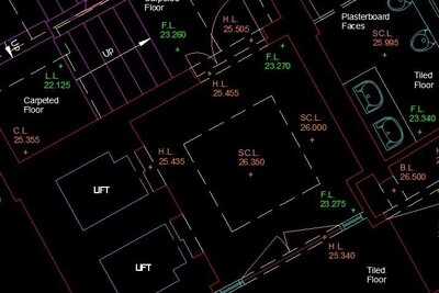 Autocad Building Plan London