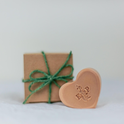 Pink Soap Heart Gift