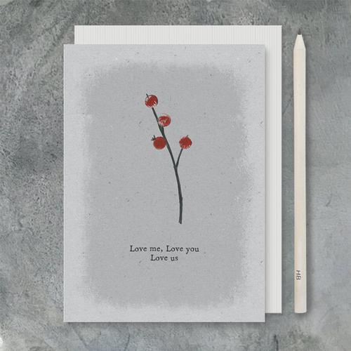 Card Love Me, Love Us