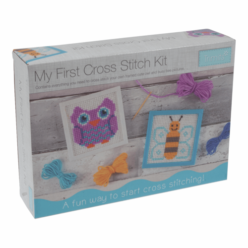 My First Cross-Stitch Kit