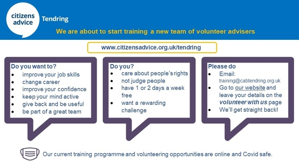 Train to be a Citizens Advice Adviser