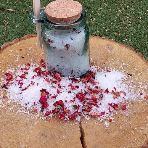 Geranium Rose Salts