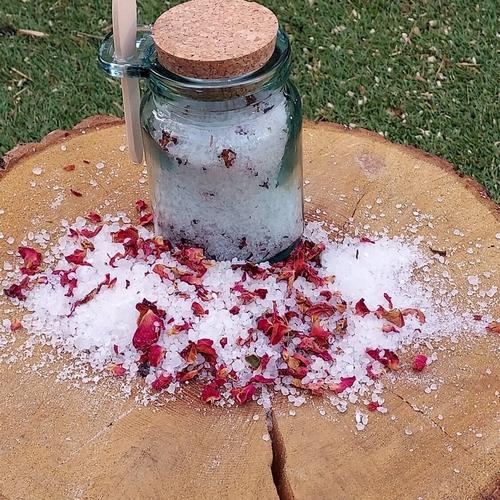 Geranium Rose Salts
