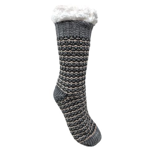Bramble Textured Lounge Slipper Sock
