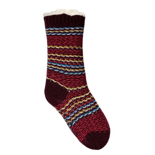 Bramble Fairisle Lounge Slipper Sock
