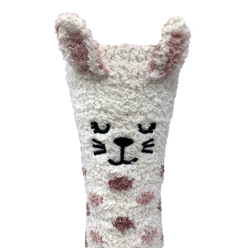 Bramble Bunny Fluffy Non-Slip Socks