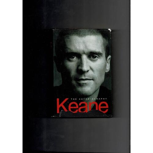 The Autobiography Keane 2002 Hardback Edition Football Book