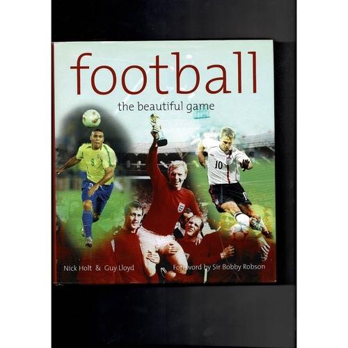 Football The Beautiful game Hardback Book 2002