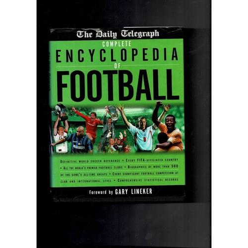 Encyclopedia of Football Hardback Book 2000