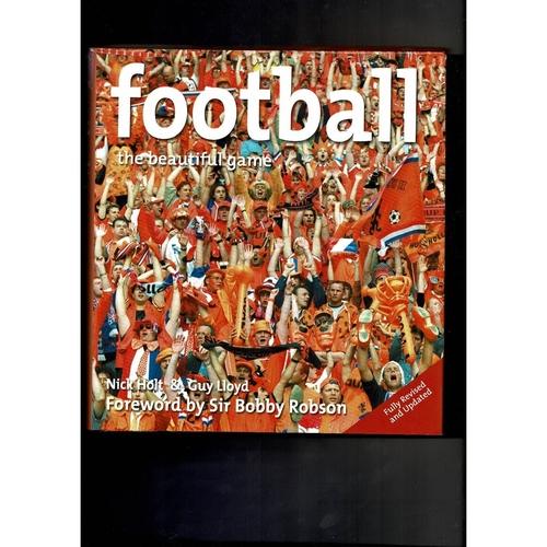 Football The Beautiful Game Hardback Book 2003