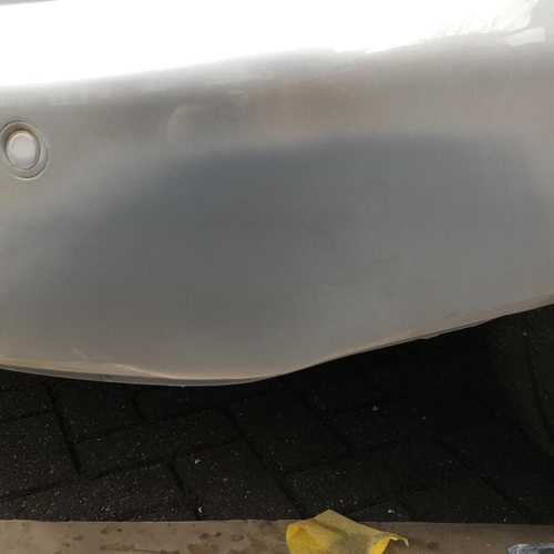 Garage told client to buy new bumper