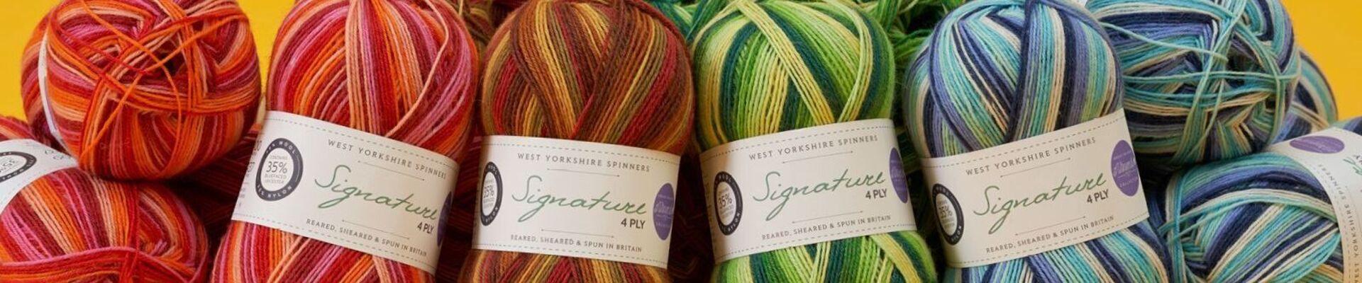 sock yarn, signature sock yarn,