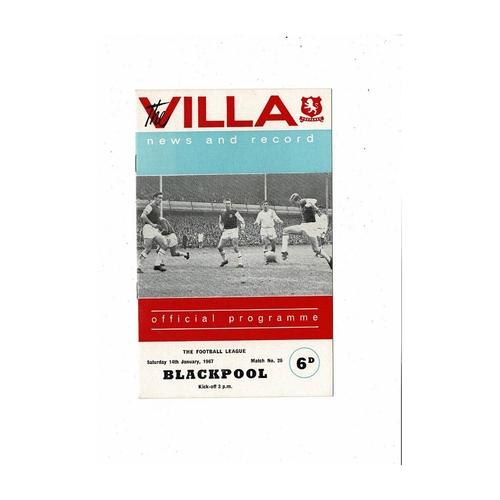 Blackpool Away Football Programmes