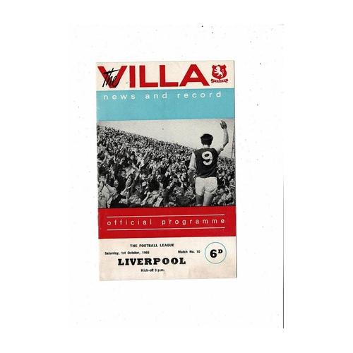 Liverpool Away Football Programmes