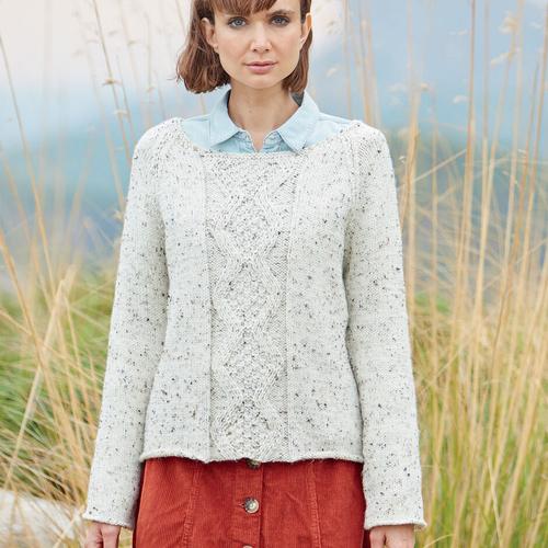 Aran Sweater Pattern 8230